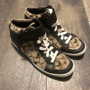 Women's coach high top